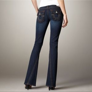 True Religion Joey flare denim jeans . USA made